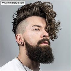 20-curly-hairstyles-for-men-2016-braidbarbers_and-long-curly-hairstyle-for-men-undercut.jpg (908×908)