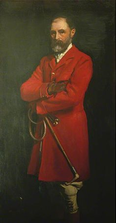 Colonel W. A. Cardwell, Master of Eastbourne Foxhounds (1895–1910) and Mayor of Eastbourne (1886–1887) by Sir Oswald Birley