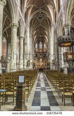 St MIchael's church, Ghent, Belgium
