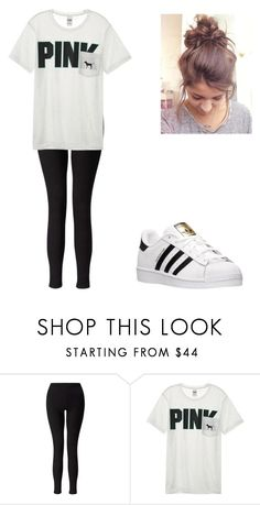 """""""Back to school outfit"""" by chloeedickinson on Polyvore featuring Miss Selfridge, Victoria's Secret and adidas"""
