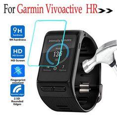 For Garmin Vivoactive HR Smart watch Digital Screen Protector Tempered Glass Protective Film For Garmin Vivoactive HR Watch