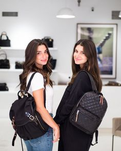 8737427f1 The lovely ladies of mama and tata blog shopping in our Soho store,  choosing which