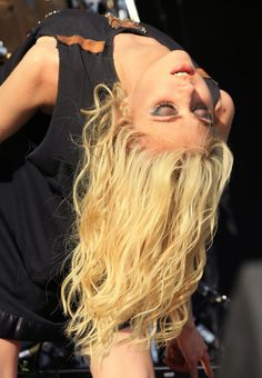 TAYLOR MOMSEN Performs at Rock on the Range 2014 in Ohio