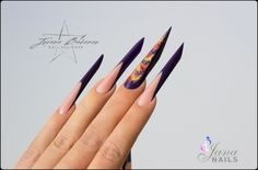 Few different nail shapes