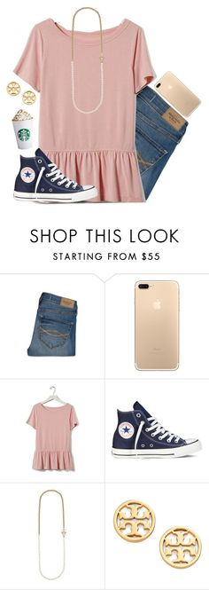 """Should I do a contest for getting 300 followers !!"" by kennamber on Polyvore featuring Abercrombie & Fitch, Banana Republic, Converse, Kate Spade and Tory Burch"