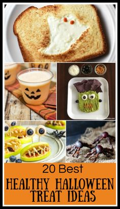 These Healthy Halloween Treats are a festive, fun and delicious way to celebrate the holiday with a healthier spin. Beverages, snacks, desserts, main dishes—choose one or more for your next celebration! Halloween Drinks Kids, Halloween Breakfast, Healthy Halloween Treats, Halloween Appetizers, Pumpkin Juice, Roast Pumpkin, Easy Drink Recipes, Snack Recipes, Halloween Chocolate
