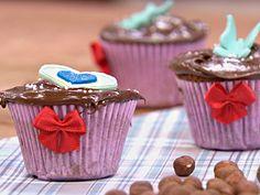 Cupcake de baunilha e creme de avelã | Receitas | FOX Life