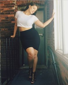Ashley Graham.  Her forte: Plus-size model and lingerie designer. Her feed: Beautiful bikini and lingerie snaps; lots of insider fun. Source: Instagram user theashleygraham