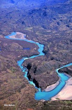 Rio Baker, Chile - La Región de Aisén (XI). Diario La Nación - noticias de Chile…