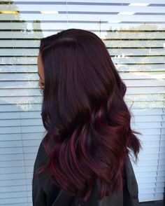 50 Enchanting Red Violet Hair Color Ideas — Magical Combinations Check more at http://hairstylezz.com/best-red-violet-hair-color-ideas/