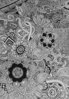 Doodling.