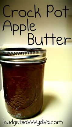 Crock Pot Apple Butter - Gluten - Free
