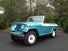 1968 Jeepster Sport Convertible. This is how it looks now.