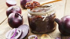 Foie Gras, Bacon Onion Jam, Tasty, Yummy Food, Onion Recipes, Vegetable Drinks, Healthy Eating Tips, Veggie Dishes, Food Menu