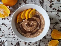Chocolate-Orange Overnight Oats (Gluten-Free, Vegan)