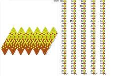 Świat Koralików: Czwartkowe DIY - kulka szydełkowa schemat