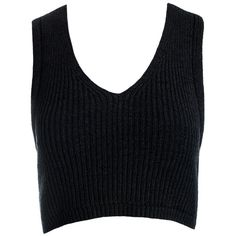 Sans Souci Black layered back cropped white sweater top (€12) ❤ liked on Polyvore featuring tops, crop tops, shirts, tank tops, black, cropped shirts, white crop top, white top and cut-out crop tops