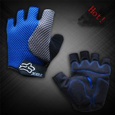 Dropship 2013 GEL Bike Bicycle Half Finger Cycling Gloves for Men & Women Racing Outdoor Sports Gloves   Wholesale