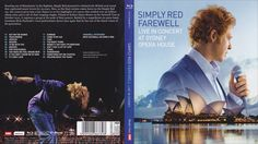 Simply Red -  Farewell Live In Concert At The  Blu Ray Front Cover