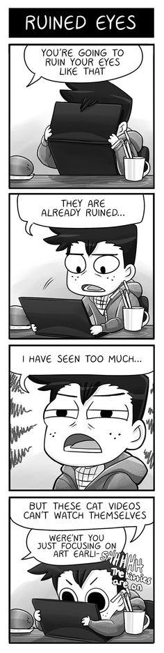 Mondo Mango :: Ruined Eyes | Tapastic Comics - image 1
