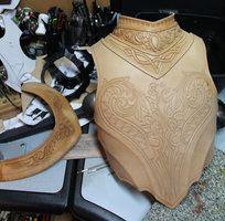artorias leather   deviantART: More Like Three triskells bracelet by ~Noir-Azur