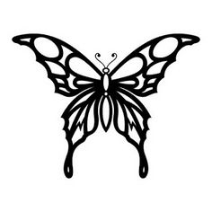 TATTOOS: Butterfly Tattoo Stencils