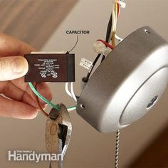 We'll show you how to change a ceiling fan by adding a convenient remote control. One easy fix is to install a ceiling fan remote control. Ceiling Fan With Remote, Ceiling Fans, Ceiling Fan Makeover, Diy Home Repair, Car Repair, Electrical Wiring, Home Repairs, Diy Home Improvement, Home Projects