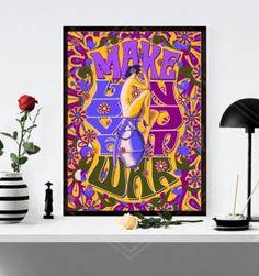 poster make love - 30x40 cm