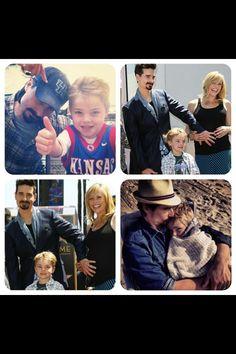Backstreet Boys - Kevin Richardson & family