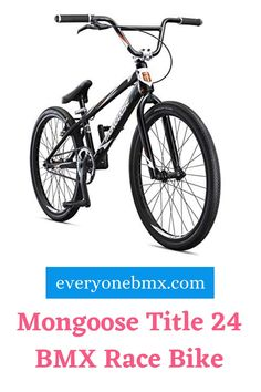 Capable of high-end performance – a bike designed for riders with intermediate skills all the way up to Pro. Bmx Bicycle, Bmx Bikes, 24 Bmx, Best Bmx, Mongoose, Bike Design, Mountain, Racing