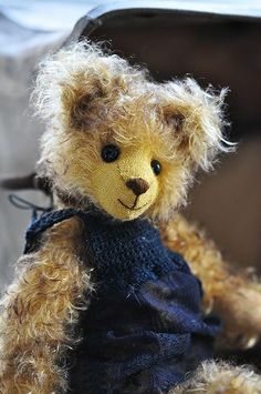 I love a mohair bear.