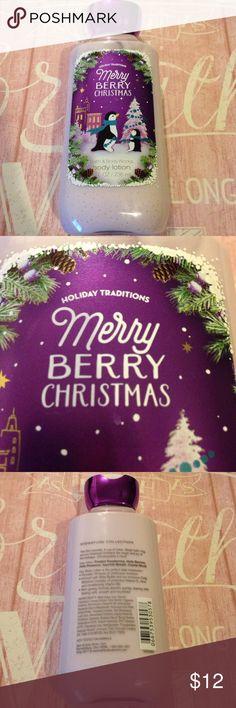 New Bath & Body Works Merry Berry Christmas Lotion New Bath & Body Works Merry Berry Christmas Lotion Bath & Body Works  Other
