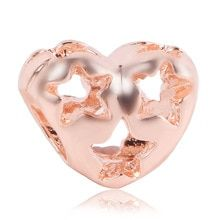 2019 New Rose Gold Blush Pink Magnolia Bloom Bead Fit Original Pandora Charms and Other Favorites - 2019 New Rose Gold Blush Pink Magnolia Bloom Bead Fit Original Pandora Charms and Other Favorites - Rose Gold Charms, Diy Jewelry Making, Pandora Charms, Magnolia, Blush Pink, Heart Ring, Bloom, Charmed, The Originals