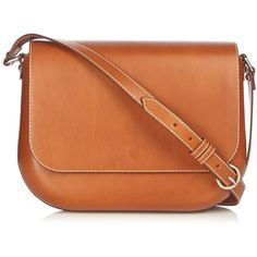 A.P.C. Léa leather cross-body bag (16.630 CZK) ❤ liked on Polyvore featuring bags, handbags, shoulder bags, crossbody handbag, red crossbody, genuine leather handbags, leather crossbody purses and leather purses