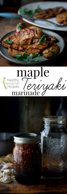 Blog post at Healthy Seasonal Recipes : Making home-made teriyaki marinade is so simple and so delicious especially when it has maple syrup in it! You'll never have to buy bottled�[..]