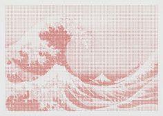 © Loïc Raguénès, « Tempête au large de Kanagawa III », 2010 – Courtesy de l'artiste - « AGATHE LE GOUIC » de Loïc Raguénès