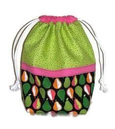 Modern Fabric Drawstring Bag Project Bag Fabric Gift Bag