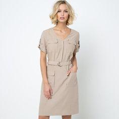 Sukienka w stylu bombajki, 70% Lyocell® LAURA CLEMENT