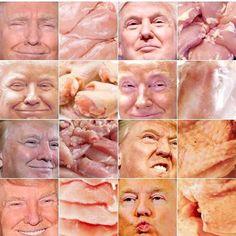 Trump or Chicken Parts?