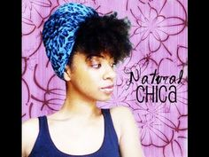 Natural Hair Turban Style! : QUICK NATURAL HAIR STYLE-I think I might actually be able to use the cute scarf I have!! :D