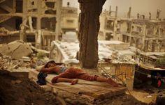 (9) Le Moyen-Orient noyé dans une tempête de sable - Libération