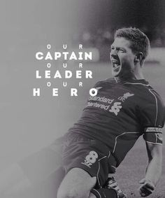The one and only, Steven Gerrard.