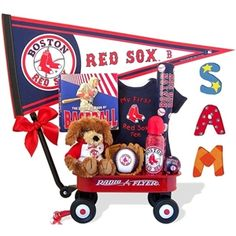 http://www.gotobaby.com/ – Buy awesome new boston red sox radio flyer wagon gift set at Go To Baby with personalized hand-painted wooden letters.