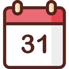 Calendar free vector icon designed by Good Ware Logo Design App, App Icon Design, Iphone App Layout, Iphone App Design, Iphone Logo, Iphone Icon, Calender App, Blank Calendar, Logo Application