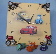 """Декупаж - Сайт любителей декупажа - DCPG.RU   7 месяце в декупаже или """"Что родилось?"""", ч.3 (часы) Click on photo to see more! Нажмите на фото чтобы увидеть больше! decoupage art craft handmade home decor DIY do it yourself clock cars"""