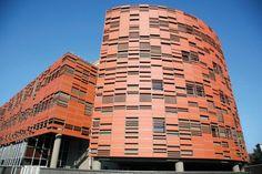 Terracotta facade panels