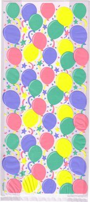 Cello Cellophane Favor Treat Party Bags w/Twist-Ties - Balloons >>> Check out the image by visiting the link.