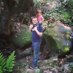 Went hiking at Castle Rock State Park earlier. So beautiful! #castlerock #daddyanddaughter #myloves #myfamily #hiking #nature #toddlersofinstagram #toddlerlife by spookshow.mommy