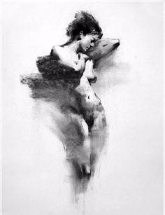 Standing Female Figure By Henry Yan