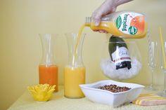 Create a mimosa bar